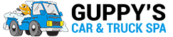 Guppy's Car & Truck Spa Logo